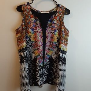 Womens Bisou Bisou top size small